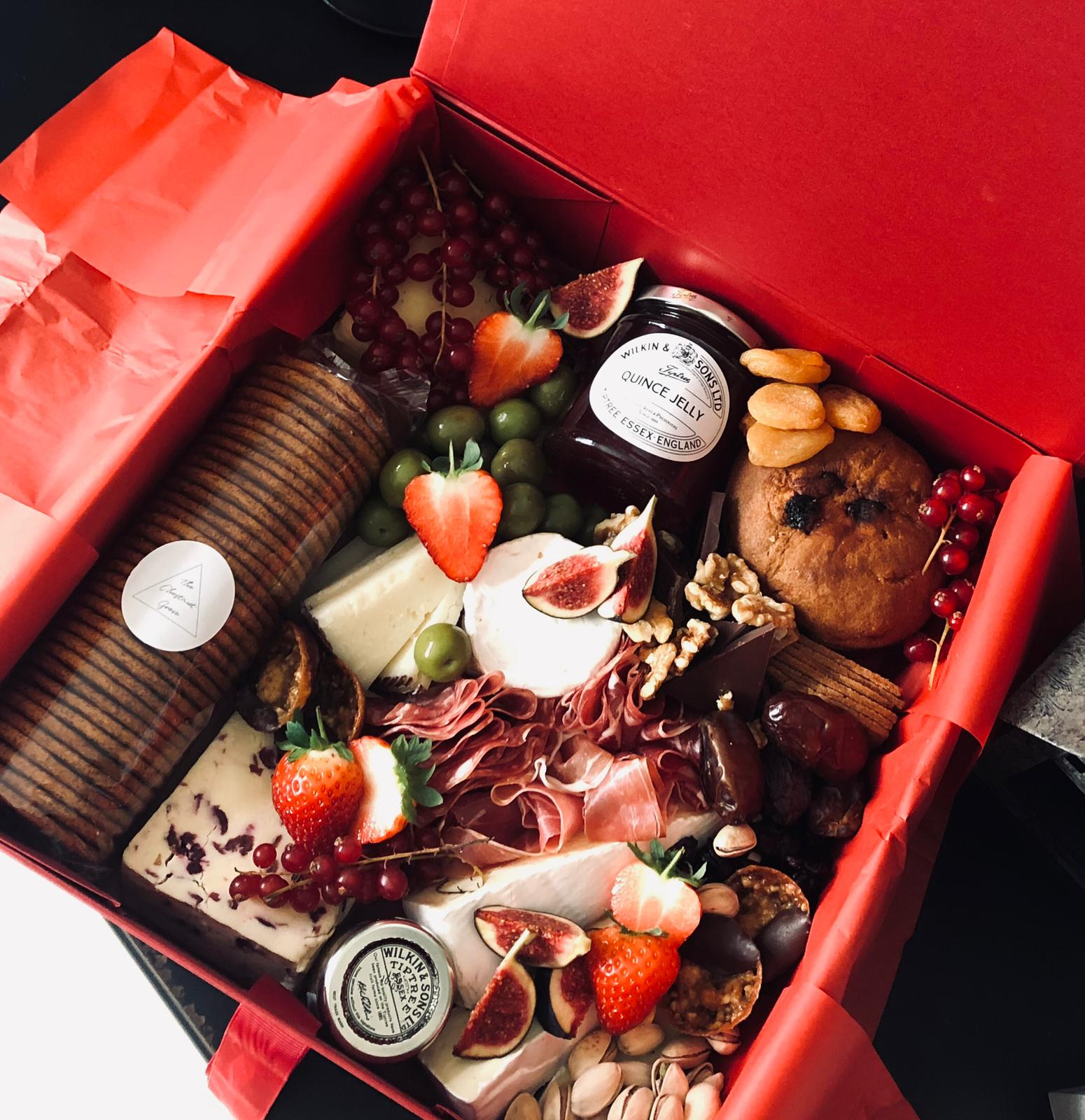 The Chestnut Christmas Cheese Box